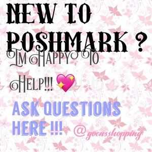 New To Poshmark? Ask me anything here!