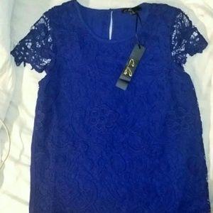 C luce blue dress flats