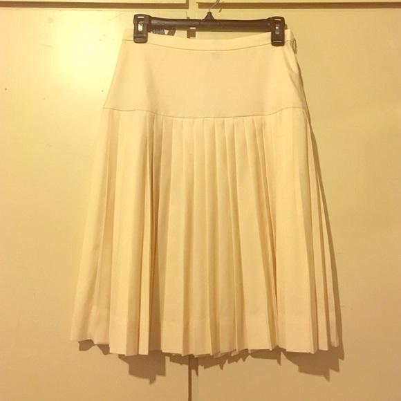 7b47fa15df J. Crew Dresses & Skirts - J Crew Super 120's Drop Waist Pleated Skirt