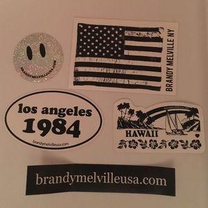 Brandy Melville Other - brandy melville sticker set of 5