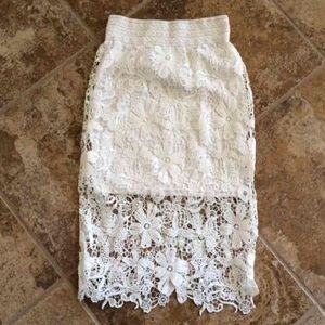 Dresses & Skirts - Crochet Skirt