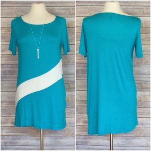 Dresses & Skirts - 🌞SALE 🌞Comfy tee shirt dress Aqua S or L