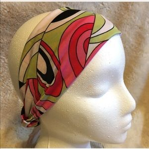 Simply Splendid Creations Accessories - Multicolor stretch hairband