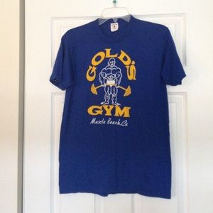 85b087d2 Brandy Melville Tops - Vintage Golds Gym Muscle Beach California tshirt