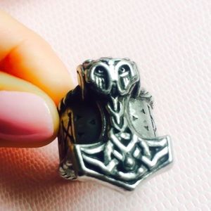 Alchemy Jewelry - Thor's Rune Hammer Ring 8 - 8.25