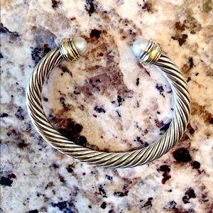David Yurman Jewelry - David yurman 7mm pearl bracelet