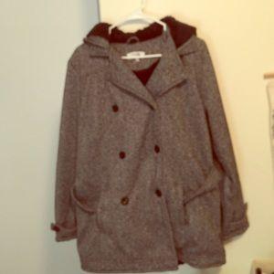 brand new coat.