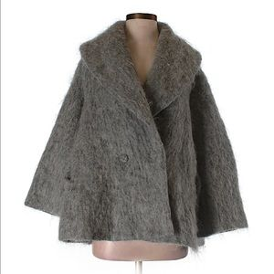 H&M fur swing jacket