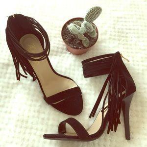 Shoes - 😍Trendy fringe heels🔥