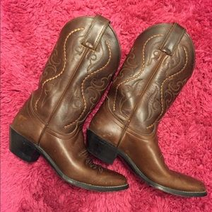 Shoes - Sexy cowgirl leather boots 😍