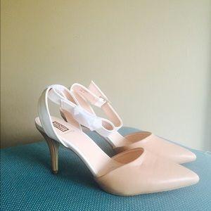 Beige Ankle Heels💕💕BNWOT