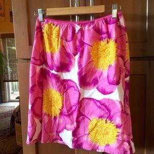Roxy Dresses & Skirts - Roxy tropical flower skirt