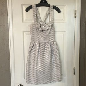 Dresses & Skirts - Silver Cross Strap Dress