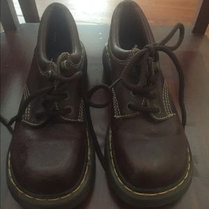 Brown Doc Martens size 7 1/2-8
