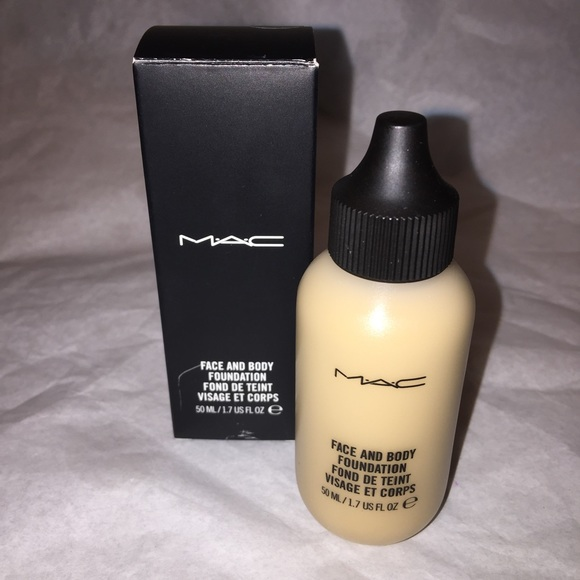 mac cosmetics makeup mac face and body foundation 50ml c3 poshmark
