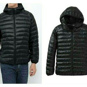 Uniqlo Jackets Amp Coats Ultra Light Down Parka In Black