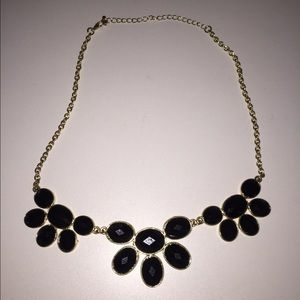 Jewelry - *SOLD LOCAL* black&gold statement necklace