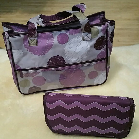 bdede8b955 Thirty One True Beauty Bag Sketchy dot. M 5706e8c1bcd4a7e64d00201e