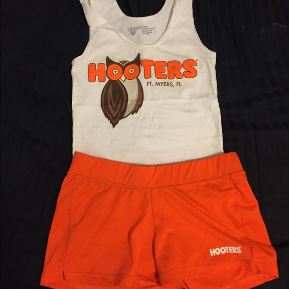 Hooters Other  Authentic Girl Uniform  Poshmark-6605