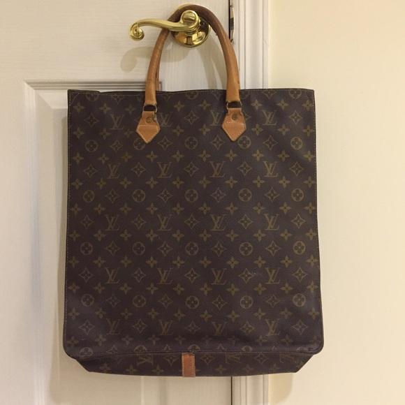 Louis Vuitton Bags   Sale Final Price Drop Vintage Lv Sac Plat ... 5477b1e405e