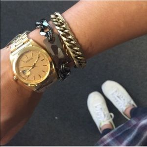 T&J Designs Accessories - SALE! Oversized gold-colored watch MSRP $58