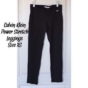 Calvin Klein Pants - Calvin Klein Power Stretch Seamed Leggings XS