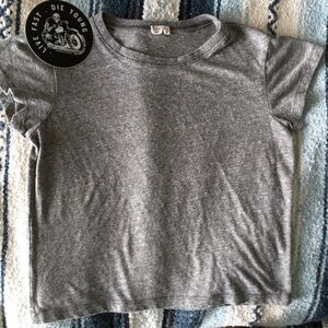 "Brandy Melville Tops - Brandy Melville ""I HATE EVERYONE"" Shirt + Sticker"
