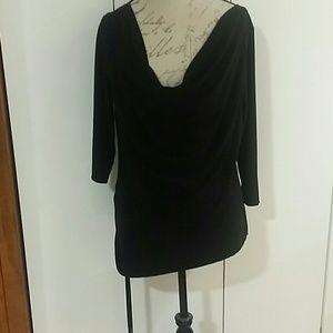 American city wear Tops - Black high low shirt