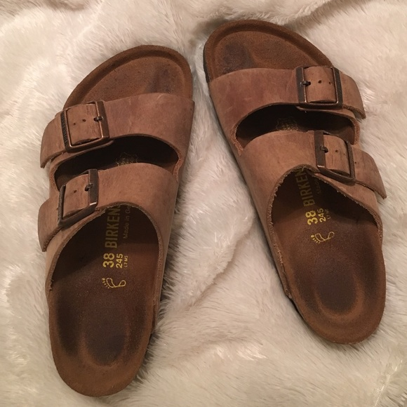065643854a7f Birkenstock Shoes - Birkenstock Arizona Oiled Leather tobacco