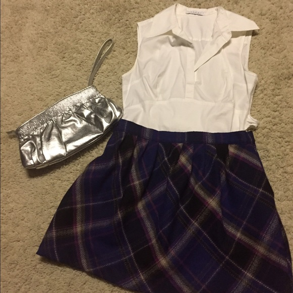 Old Navy Dresses & Skirts - Old Navy plaid skirt