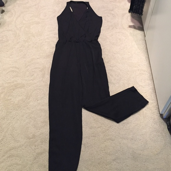Zara Black Playsuit Size Xs Clothing, Shoes & Accessories