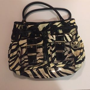 Michael Kors Handbags - Zebra print Michael lots bag