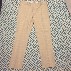 Nude, printed ankle pant
