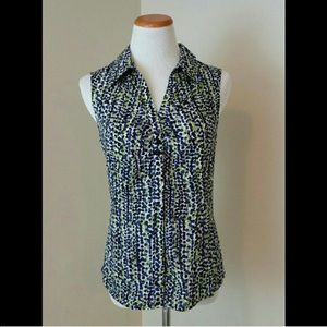 Geoffrey Beene Tops - Cute Sleeveless Top L