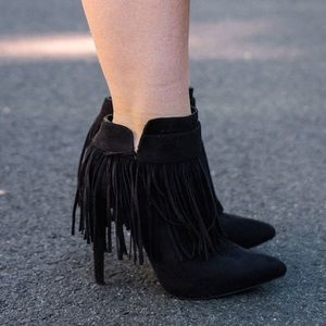 AMI Clubwear Shoes - Fringe boots