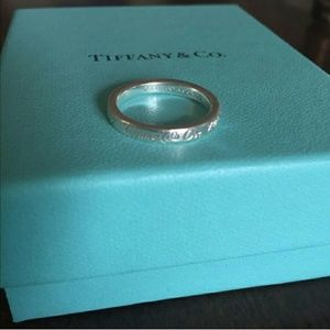 Tiffany and co logo ring