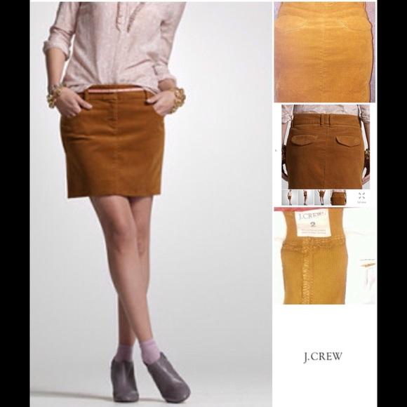1c442185c J. Crew Skirts | Jcrew Crew Vintage Cord Coed Mini Skirt | Poshmark