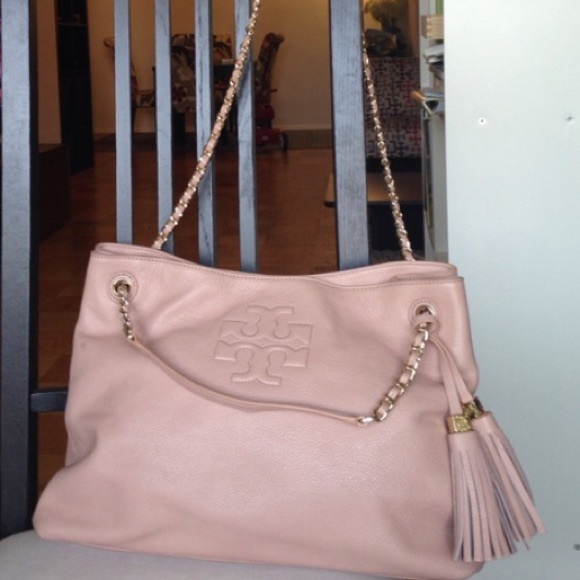 f1695dcbdc0 Tory Burch Thea Chain Slouchy Shoulder Bag. M 57071edd4127d00cbe00a599