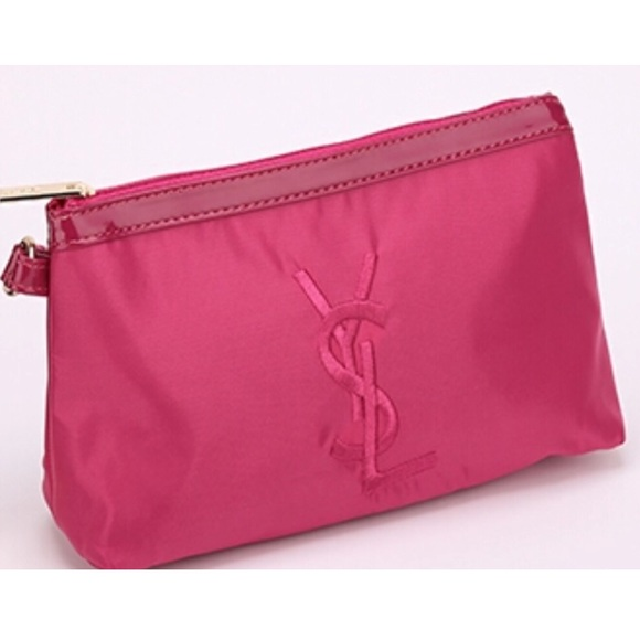 ❗️FINAL PRICE❗️Pink YSL cosmetic bag cad7e943057b9