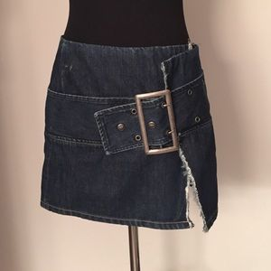 Diesel Dresses & Skirts - Diesel Denim Wrap Skirt