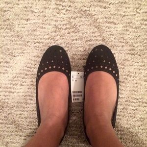 Divided Shoes - H&M perforated flats