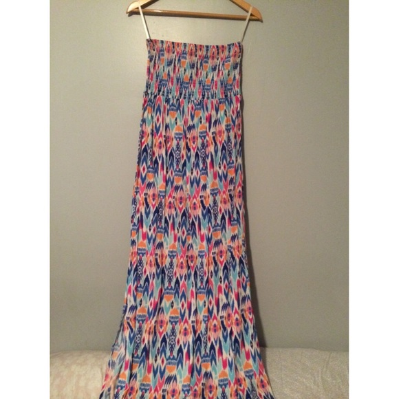 022506320c6 NWT GAP strapless maxi dress size SM