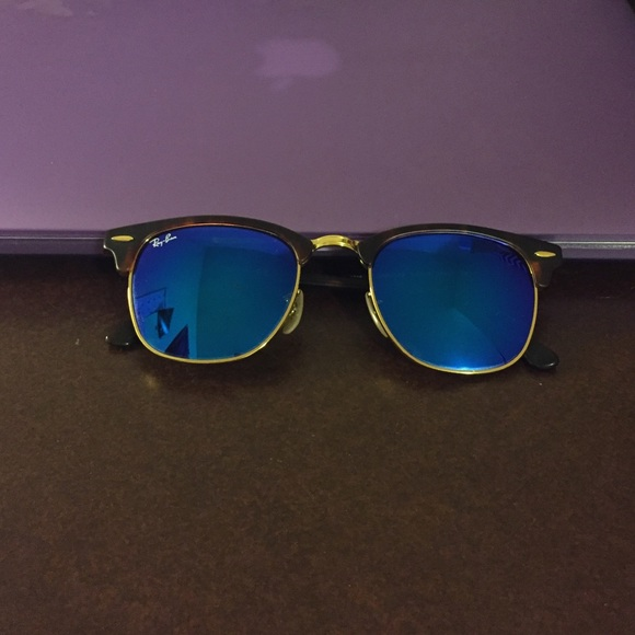 0854a49c00b ... coupon code for rayban rb3016 clubmaster matte havana blue mirror 93b23  81011