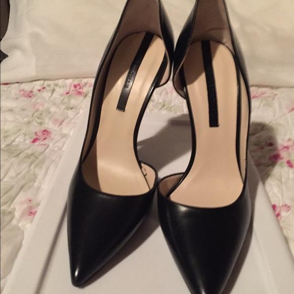 Zara Kids Leather Shoes  Black