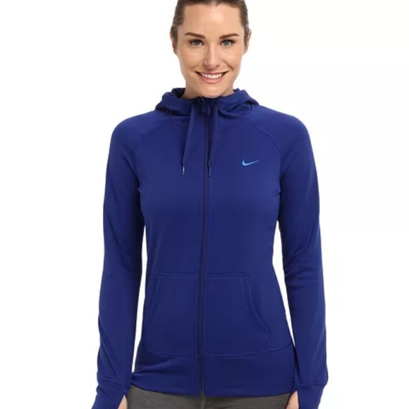 60% Off Nike Jackets U0026 Blazers - Nike Therma Fit Zip Up Hoodie (Royal Blue) From Jessu0026#39;s Closet ...