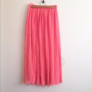 Mossimo Supply Co Dresses & Skirts - Pretty Chiffon Maxi Skirt