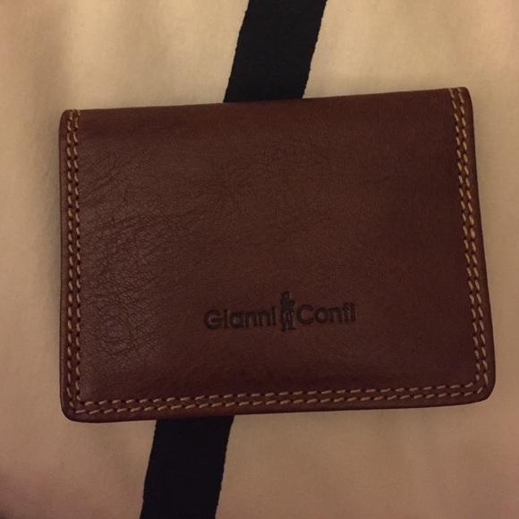 3edac5bd41e Gianni Conti Bags | Leather Bifold Wallet | Poshmark