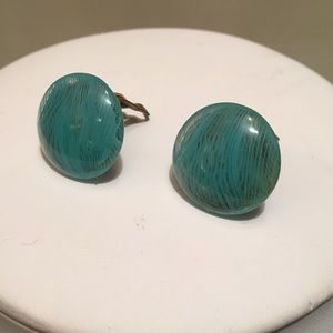 Vintage Murano Glass Clip-on Earrings