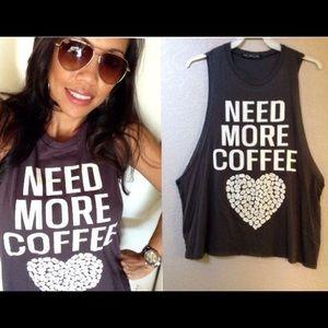 Tops - Need more coffee?? $28 @ maartz.com