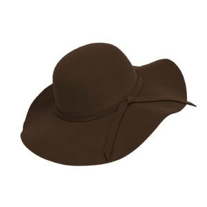 f8367382 Boutique Accessories | Boho Brown Wide Brim Floppy Hat | Poshmark